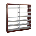 Wooden Steel Library Rack