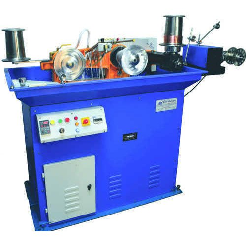 Gold 12 Pass Wire Drawing Machine with Bobbin Rewinding