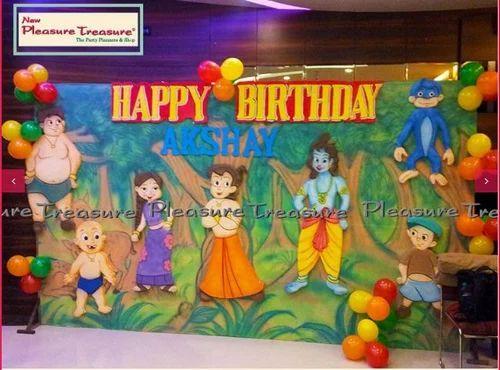 Party Organizer Frozen Theme Based Party Decoration Service