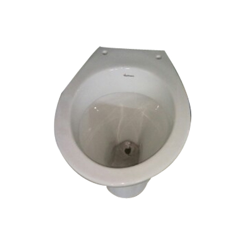 Varmora White and Floor Mounted Toilet Seat