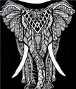 Cotton Printed Elephant Double Duvet Rajai Cover