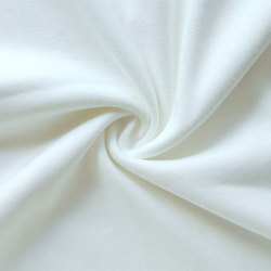 Plain Daga White Cotton Fabric, GSM: 100-150