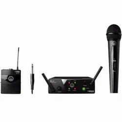 Black Modern Vocal Set Microphone Wireless System