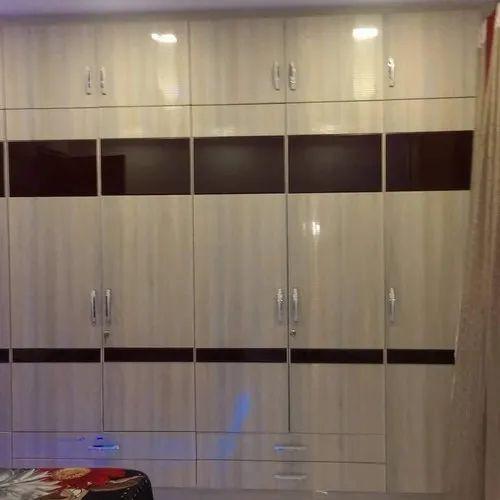 Double Door Swing Designer Bedroom Wooden Almirah For Home Rs 1000 Square Feet Id 21961000948