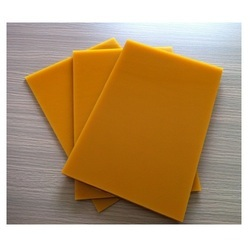 Yellow Polyurethane Sheet, 5mm