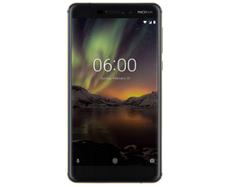 Nokia 6.1 (2018) (4GB 64GB, Blue-Gold) Mobile