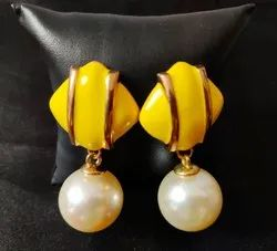 NELOFE Stylish Party Wear Latest Design Designer Hanging Earrings for Women and Girls