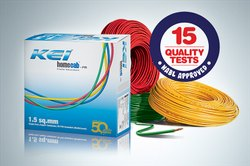 KEI 0.75 - 6.0 sqmm House Wire, 90m Roll