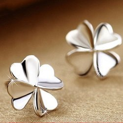Silver Ear Stud Fashion Jewelry