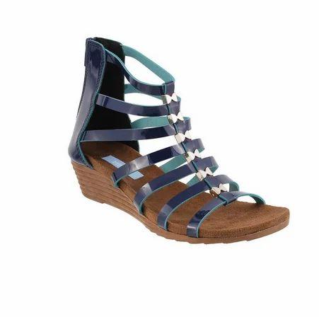 4d0dc647b2b7 Metro 33-9103-Blue-Navy Casual Gladiators Sandal at Rs 1790  pair ...