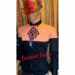 Fashion Fever Modern Designer Shirt, Size: M, L & XL