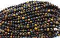 Multi Tiger Round Beads
