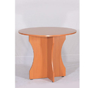 Wooden Round Sc-con105 Discussion Table, Seating Capacity: 2