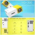 Mini LED Pocket Projector YG - 300