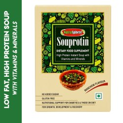 NutraSphere Weight Gainer Souprotin Manchow High Protein, Low-Fat Soup