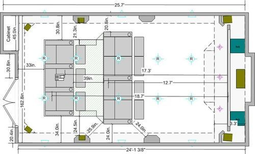 Home Theater Architectural Layout