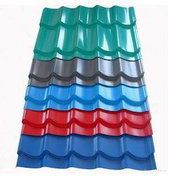 JSW & Essar Colour Coated Roofing Sheet With Thickness: 0.50 mm