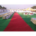 Red Non Woven Tent House Floor Carpet, For Industrial