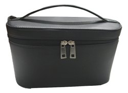 Plain Mon Exports Genuine Leather Cosmetic Case