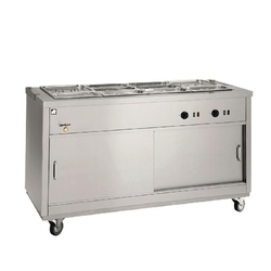 Silver Hot Bain Marie, For Food Warming
