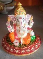 Handmade Designer Marble Ganesha