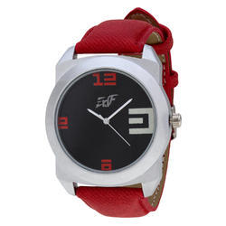 Round Enf Mens Stylish Waterproof Wrist Watch