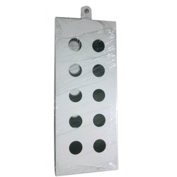 INNOVATIVE Mild Steel MS Push Button Box, For Electric Fitting