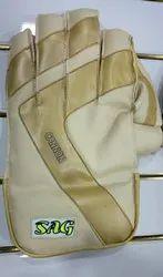 SAG Golden keeping gloves ( cannon ), Size: Medium