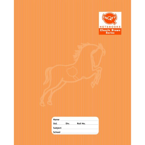 INQFY Writing Notebook Animal Print Writing Notebook, Paper Size: 19.5x15.5 cm