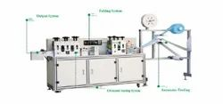 Semi Automatic Flat Face Mask Making Machine