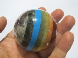 7 Chakra Bonded Stone Reiki Yoga Meditation Sphere