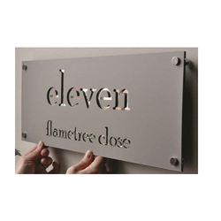 Name Plate Fabrication Service