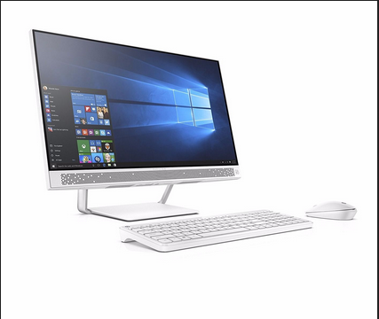 White HP Pavilion All In One 24 Q276in