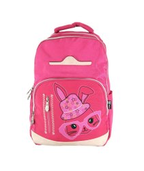 x Man Printed Pink Colour School Bags