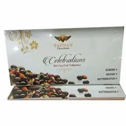 Saffron Chocolates Piece Dryfruit Chocolate