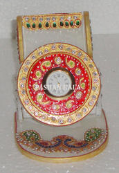 Marble Gold Painted Mobile Holder