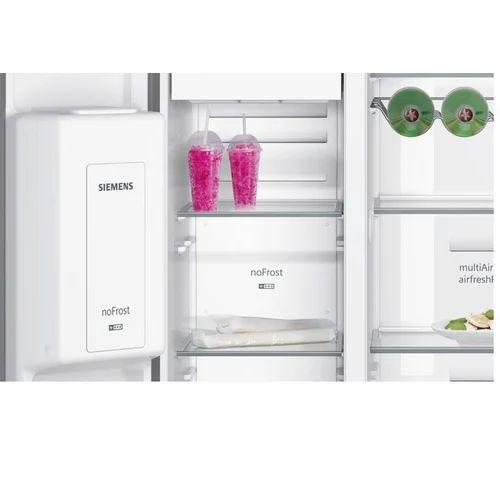 Siemens Black Ka92dsb30 Side By Side Fridge Freezer Id 18243105088