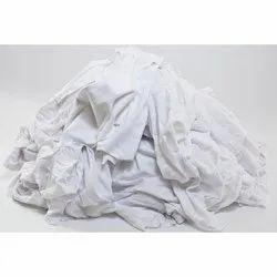 Plain White Cotton Yarn Waste, Packaging Type: Bale
