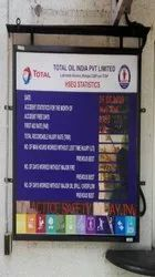 Accident Free Display Board