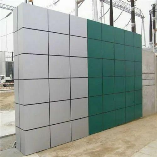 Exterior wall cladding 4mm pvdf aluminum composite panel