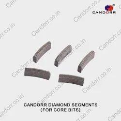 Diamond Core Bit Segments
