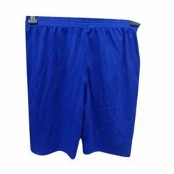 Plain Blue Ladies Cotton Slex Short Legging