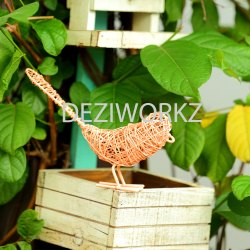 Sparrow Plain Metal Wire Birds