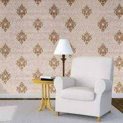 Synthetic Paper Printed Wall Coverings, For Home, Size: 50 Sq Ft