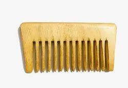 Neem Wood Comb / Shampoo Comb.