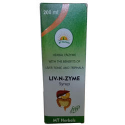 Ayurvedic Liver and enzyme Syrup