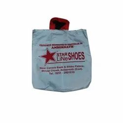 Loop Handle Printed Cotton Carry Bag, For Shopping, Capacity: 3.5 Kg