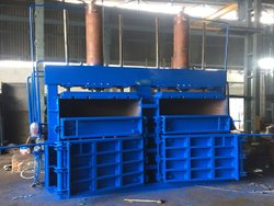 Double Box & Cylinder Hydraulic Baling Press