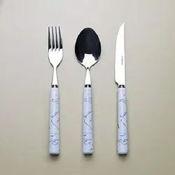 Marble Handle Cutlery Set