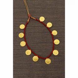 Ladies Putali Gold Necklace